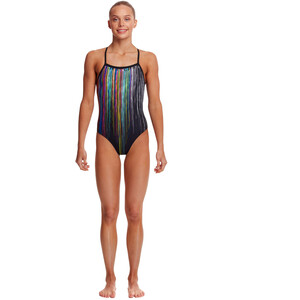 Funkita Strapped In One Piece Badeanzug Mädchen drip funk drip funk