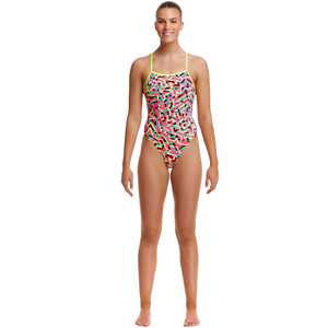 Funkita Tie Me Tight One Piece Swimsuit Women party popper party popper