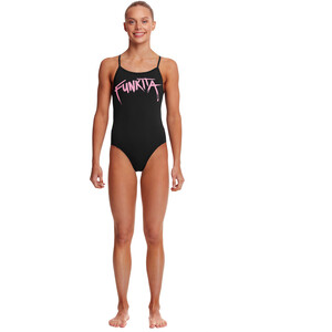 Funkita Twisted One Piece Swimsuit Girls pinked pinked