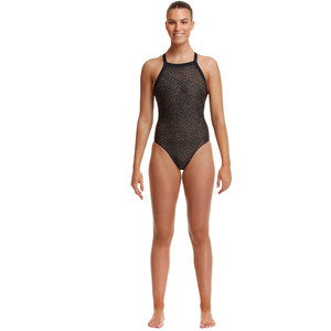 Funkita Sky Hi One Piece Badeanzug Damen leather skin leather skin