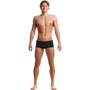 Funky Trunks Plain Front Trunks Herren still black solid still black solid