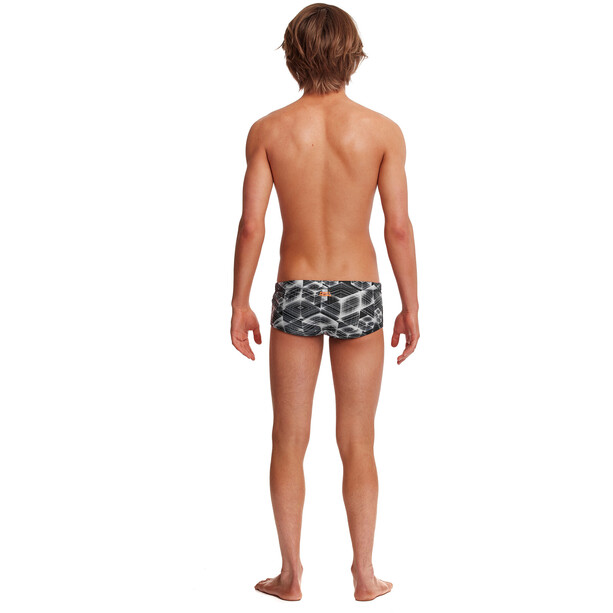 Funky Trunks Classic Trunk Jungen black hole
