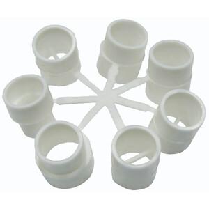Grabner Ventil Adapter 7-teilig 17mm weiß weiß