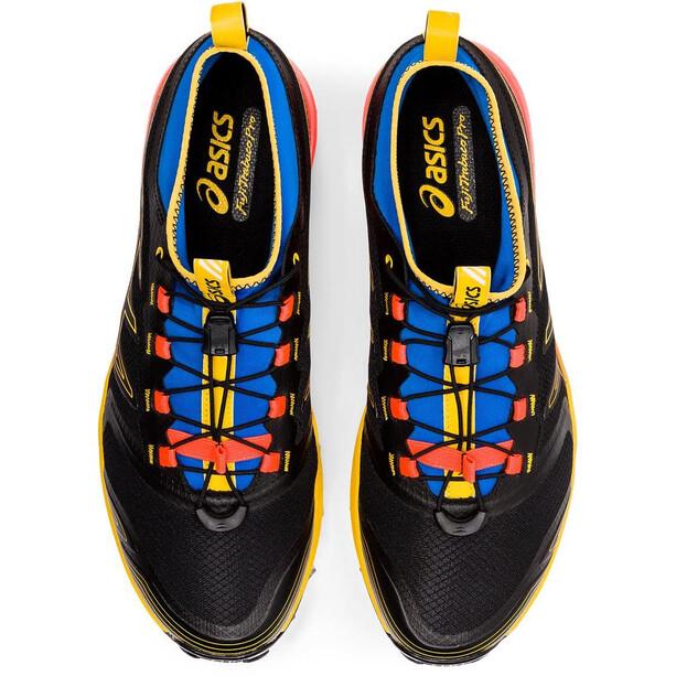 asics FujiTrabuco PRO Schuhe Herren black/saffron