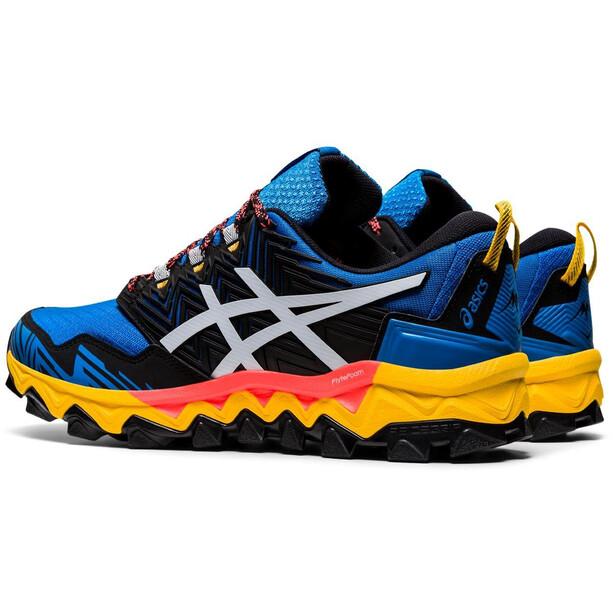 asics Gel-FujiTrabuco 8 Schuhe Herren directoire blue/white