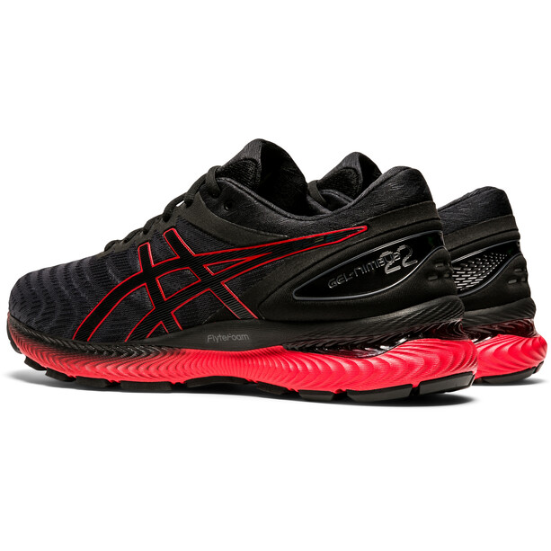 asics Gel-Nimbus 22 Shoes Men black/classic red