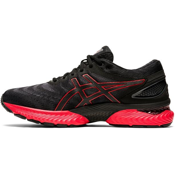 asics Gel-Nimbus 22 Schuhe Herren black/classic red
