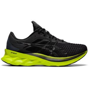 asics Novablast Shoes Men black/lime zest black/lime zest