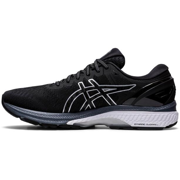 asics Gel-Kayano 27 Schuhe Weit Herren black/pure silver