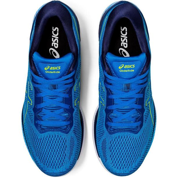 asics Glideride Schuhe Herren directoire blue/lime zest