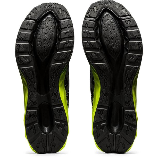 asics Dynablast Schuhe Herren black/lime zest