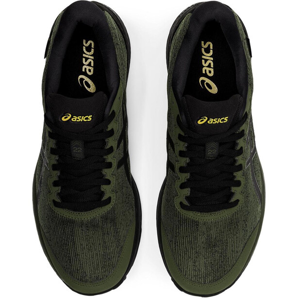 asics Gel-Cumulus 22 G-TX Schuhe Herren smog green/black
