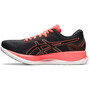 asics Glideride Tokyo Shoes Men, black/sunrise red