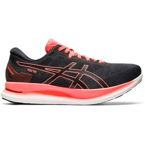asics Glideride Tokyo Shoes Men, black/sunrise red black/sunrise red