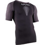 UYN Marathon OW Chemise manches courtes Homme, blackboard/charcoal/white