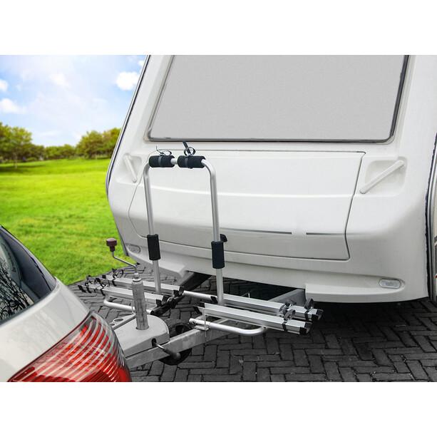 Eufab Porte-vélos Aluminium pour barre d'attelage de remorque
