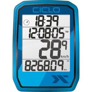 Ciclosport Protos 105 Fietscomputer, blauw blauw