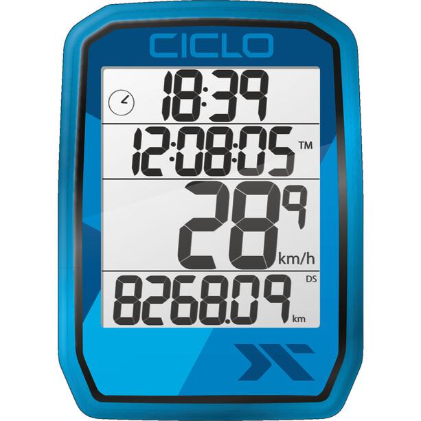 Ciclosport Protos 105 Fahrradcomputer blue