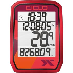 Ciclosport Protos 105 Fahrradcomputer rot rot