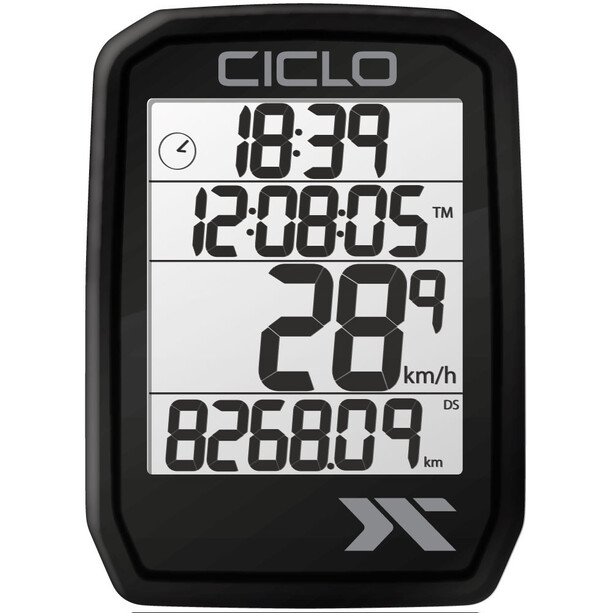Ciclosport Protos 205 Fahrradcomputer black