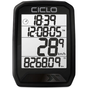 Ciclosport Protos 213 Fahrradcomputer schwarz schwarz