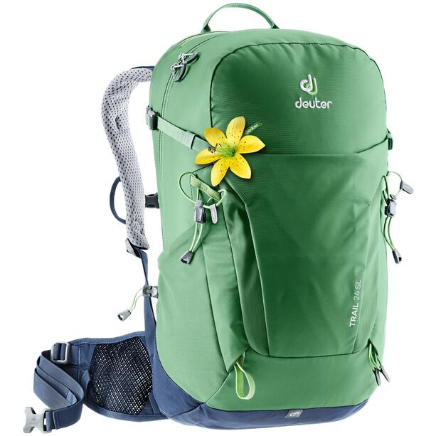 Deuter Trail 24 SL Backpack Dame leaf/navy