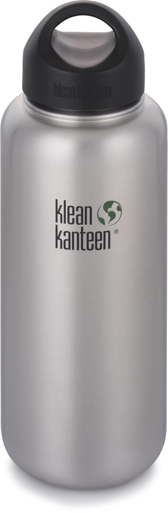 Klean Kanteen Loop Cap Wide Bottle Stainless Steel 800ml
