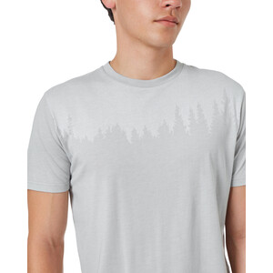 tentree Juniper Kurzarm T-Shirt Herren hi rise grey heather hi rise grey heather