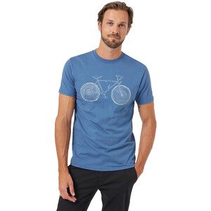tentree Elms Classic T-Shirt Herren spruce blue spruce blue