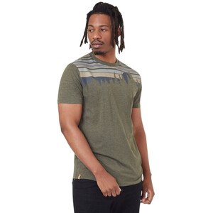 tentree Retro Juniper Classic T-Shirt Herren olive night green heather olive night green heather