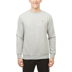 tentree TreeFleece Classic Langarm Rundhalsshirt Herren hi rise grey heather hi rise grey heather
