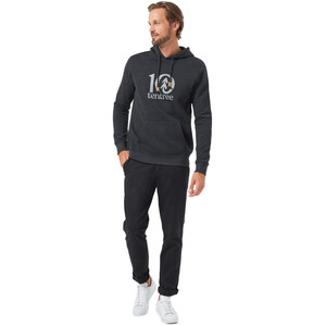 tentree Tentree Logo Classic Hoodie Herren meteorite black heather meteorite black heather