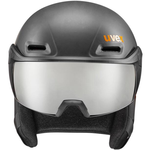 UVEX hlmt 700 Visor Helm schwarz