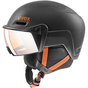 UVEX hlmt 700 Visor Helm dark slate orange mat dark slate orange mat