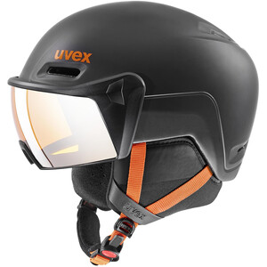 UVEX hlmt 700 Visor Helm dark slate orange mat dark slate orange mat