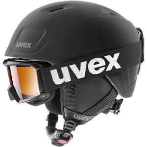 UVEX Heyya Pro Set Casque Enfant, noir noir