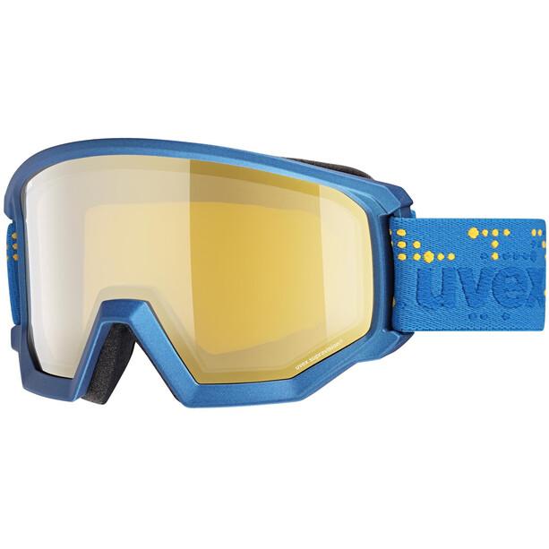UVEX Athletic FM Goggles underwater mat/mirror gold