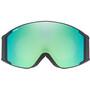 UVEX g.gl 3000 TO Goggles black mat/mirror green