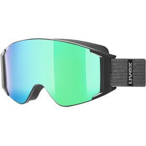 UVEX g.gl 3000 TO Goggles black mat/mirror green black mat/mirror green