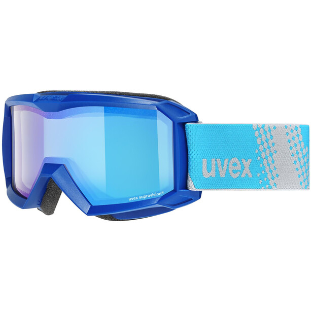 UVEX Flizz FM Goggles Kinder blue/mirror blue