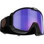 matt black/violet-blue multi