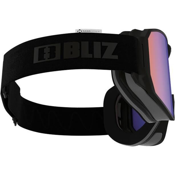 Bliz Split Nano Optics Goggles matt black/brown-blue multi