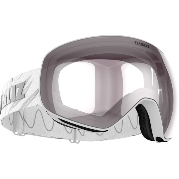 Bliz Floz Goggles matt white/pink-silver mirror