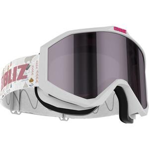 Bliz Liner Goggles Kinder white-black/pink-silver mirror white-black/pink-silver mirror