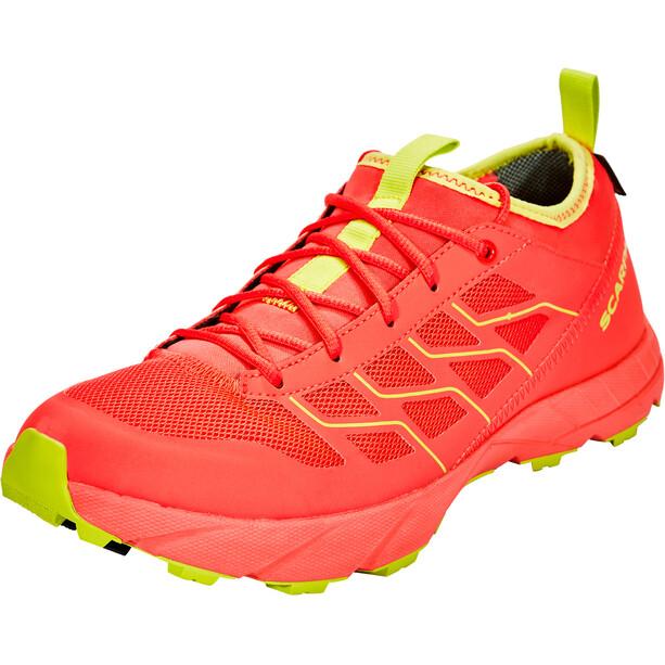 Scarpa Atom SL GTX Schuhe bright red/spring green