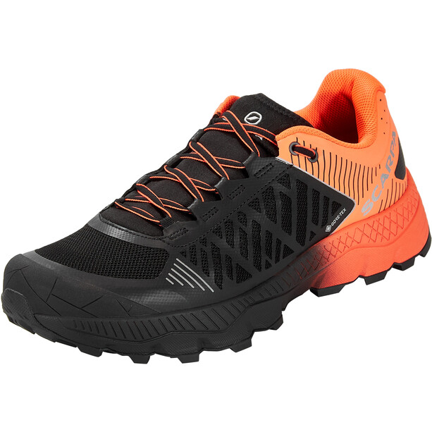Scarpa Spin Ultra GTX Schuhe schwarz/rot