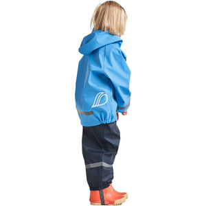 DIDRIKSONS Slaskeman 4 Regen Set Kinder breeze blue breeze blue