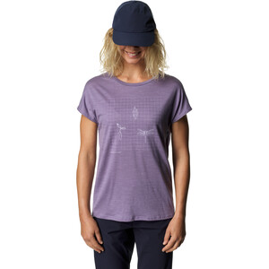Houdini Activist Message T-Shirt Damen lavender woods lavender woods