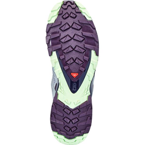 Salomon XA Pro 3D v8 Shoes Women, pearl blue/sweet grape/patina green