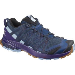 Salomon XA Pro 3D v8 Shoes Women, poseidon/violet indigo/forever blue poseidon/violet indigo/forever blue